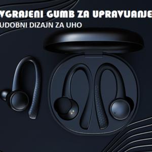 Bluetooth brezžične športne slušalke SportyBuds
