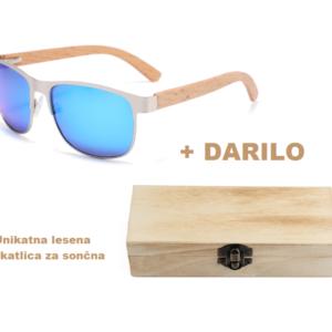 Sončna očala z lesenim okvirjem hit leta 2021