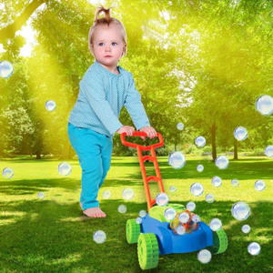 Otroška kosilnica z milinimi mehurčki SuperBubble